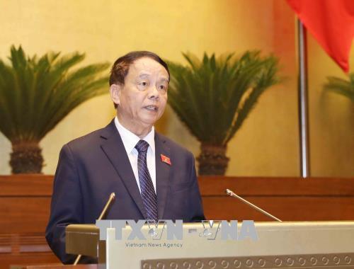 Quốc hội thông qua dự thảo Luật Quốc phòng (sửa đổi)