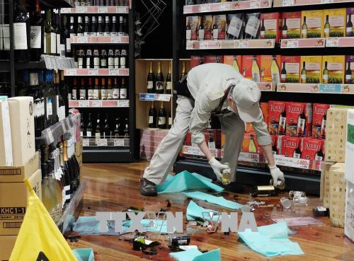 Động đất mạnh cấp 6 làm rung chuyển Nhật Bản khiến 2 người nguy kịch, ít nhất 8 người bị thương 2