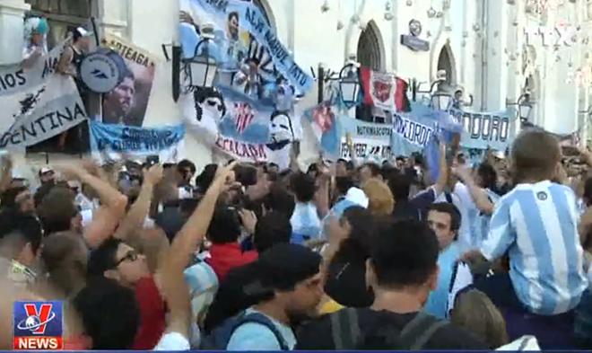 WORLD CUP 2018: Sắc màu Nam Mỹ tràn ngập Moskva