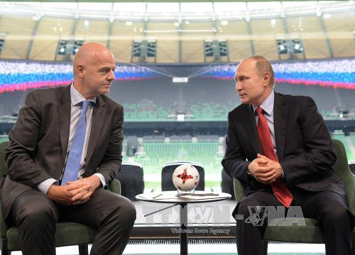 WORLD CUP 2018: Chủ tịch FIFA tuyên bố cả thế giới yêu nước Nga