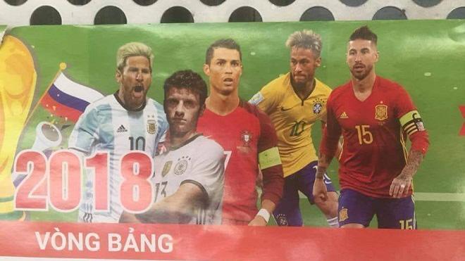 Tờ lịch tiên tri vẫn gây sốt: Sau Brazil của Neymar, đến lượt Nga cũng bị loại