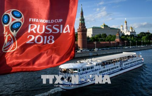 Thưởng thức World Cup trên du thuyền ở Moskva