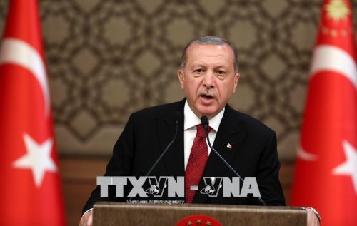 Trang đầu của một nước Thổ Nhĩ Kỳ mới