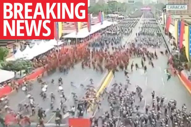 Máy bay không người lái tấn công mưu sát Tổng thống Venezuela Nicolas Maduro