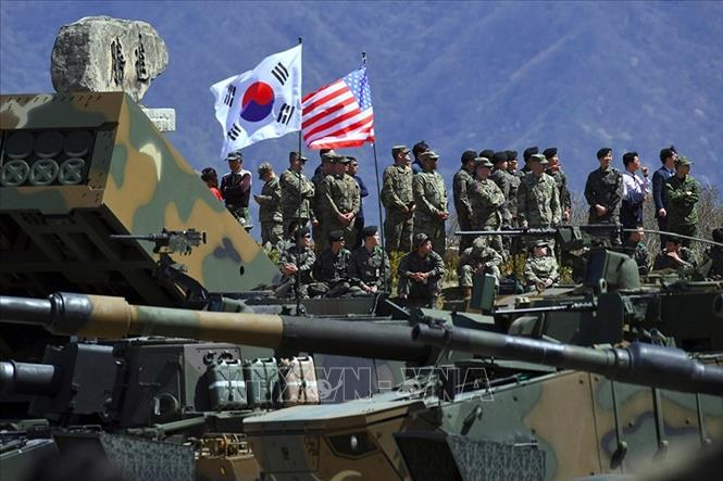 Đạt thỏa thuận về chi phí cho nhân viên Hàn Quốc tại các căn cứ của Mỹ